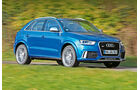 Audi RS Q3, Seitenansicht