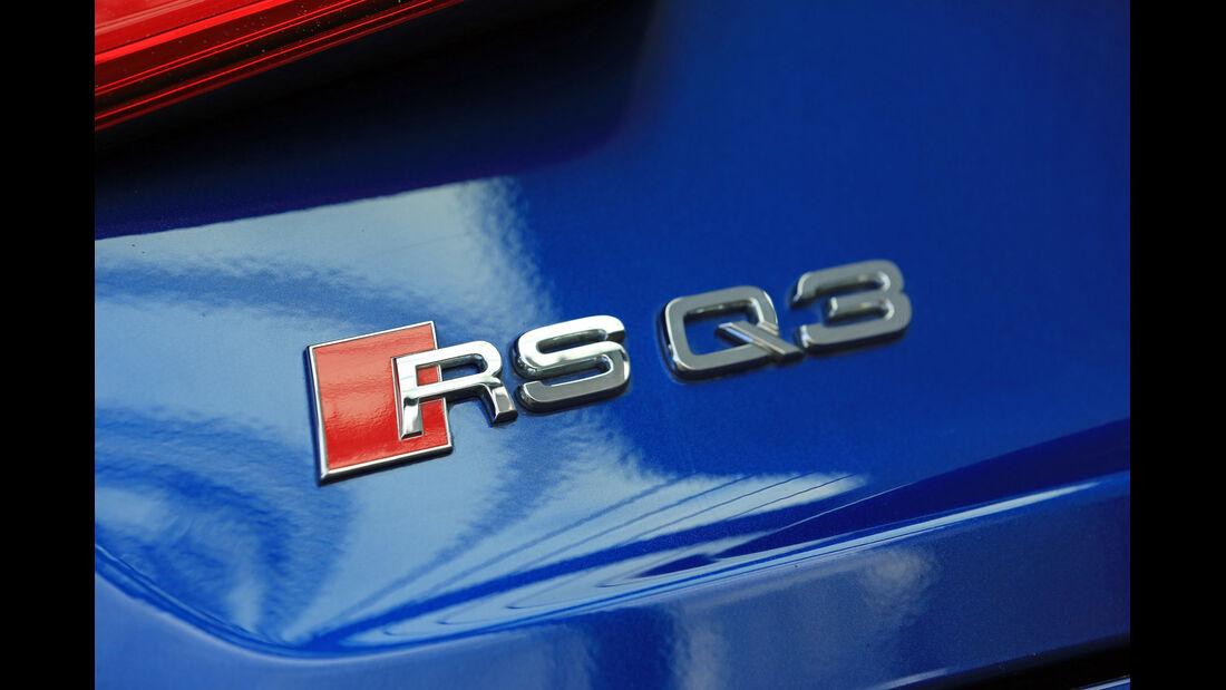 Audi RS Q3, Typenbezeichnung