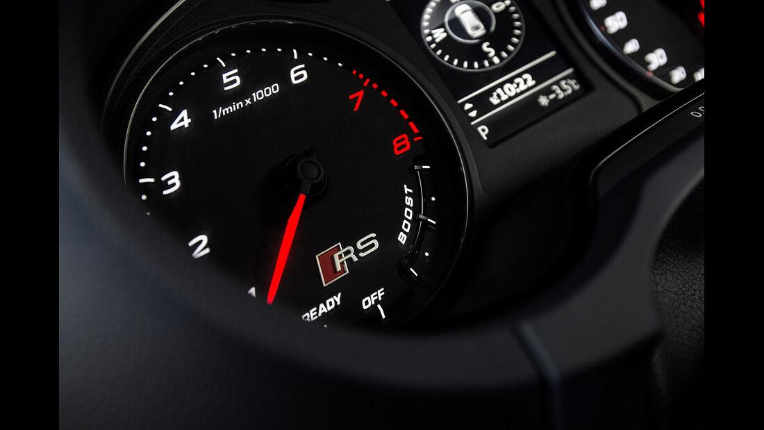 Audi RS3 2015, Cockpit, Instrumente