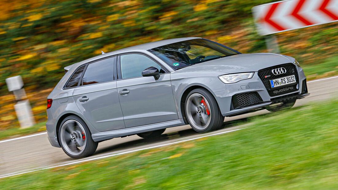 Audi RS3, Exterieur