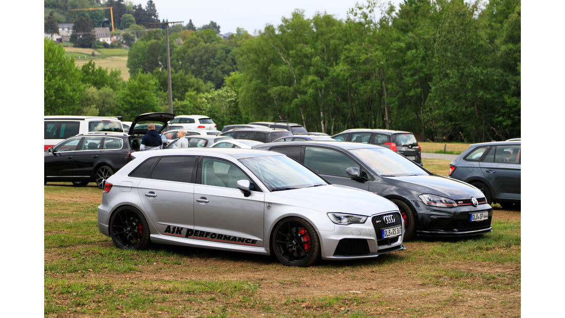 Audi RS3 - Fan-Autos - 24h-Rennen Nürburgring 2018 - Nordschleife