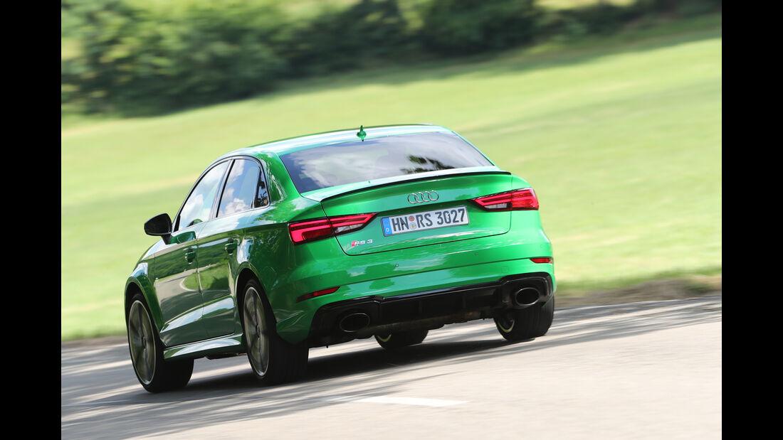 Audi RS3, Heck