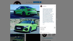 Audi RS3 Limousine Leak 2021 Instagram