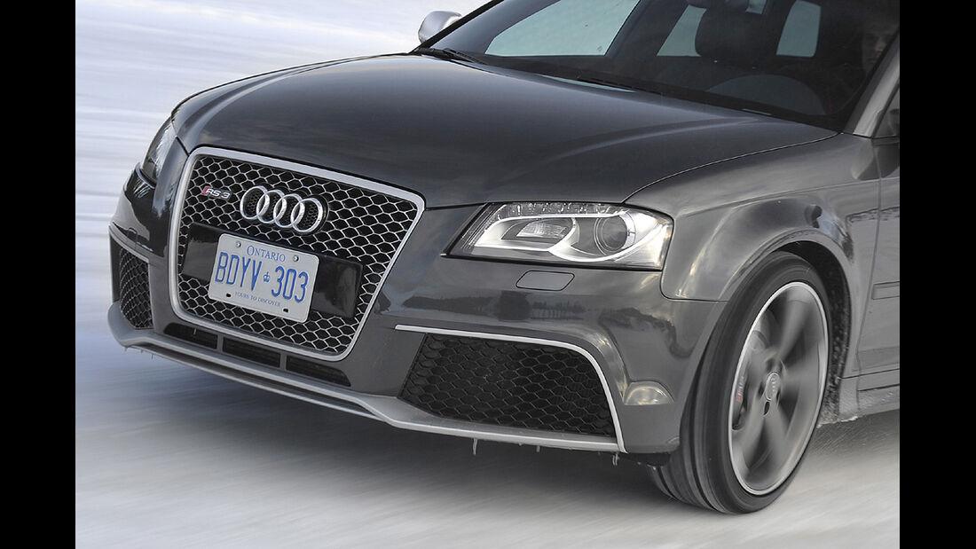 Audi RS3, Scheinwerfer, Kühlergrill, Singleframe-Grill