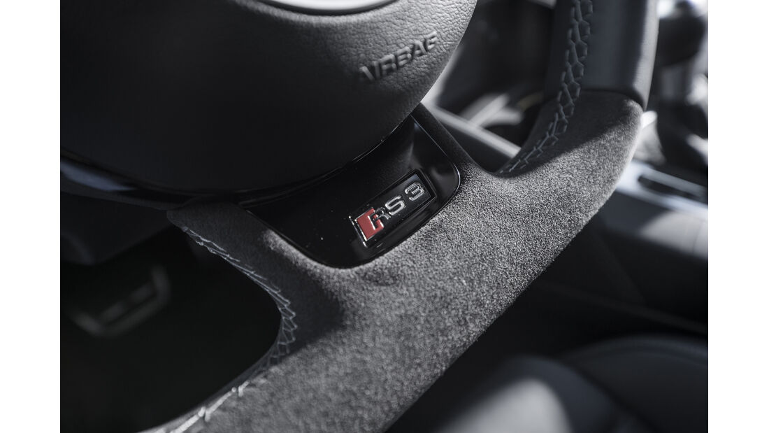 Audi RS3 Sportback 2015, Lenkrad Detail