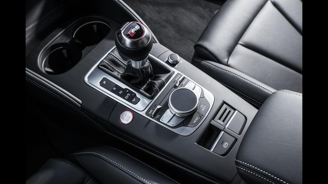 Audi RS3 Sportback 2015, Schalthebel