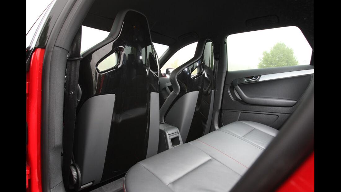 Audi RS3 Sportback, Rückbank