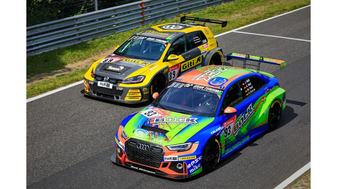 Audi RS3 - Startnummer #93 - 24h Rennen Nürburgring - 22. Juni 2019