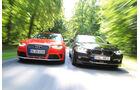 Audi RS4 Avant, Alpina B3 Biturbo Touring Allrad, Frontansicht