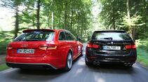 Audi RS4 Avant, Alpina B3 Biturbo Touring Allrad, Heckansicht