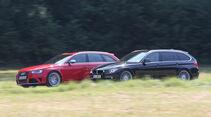 Audi RS4 Avant, Alpina B3 Biturbo Touring Allrad, Seitenansicht