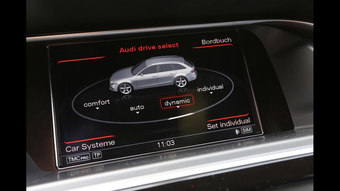 Audi RS4 Avant, Bordcomputer