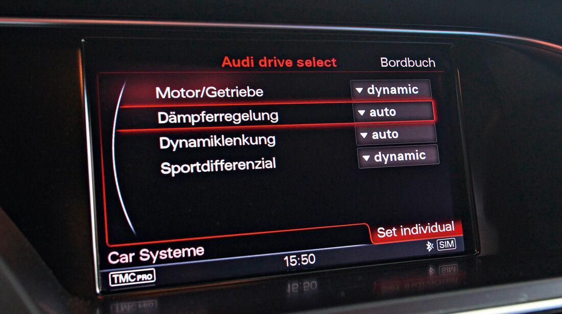 Audi RS4 Avant, Bordcomputer, Einstellungen