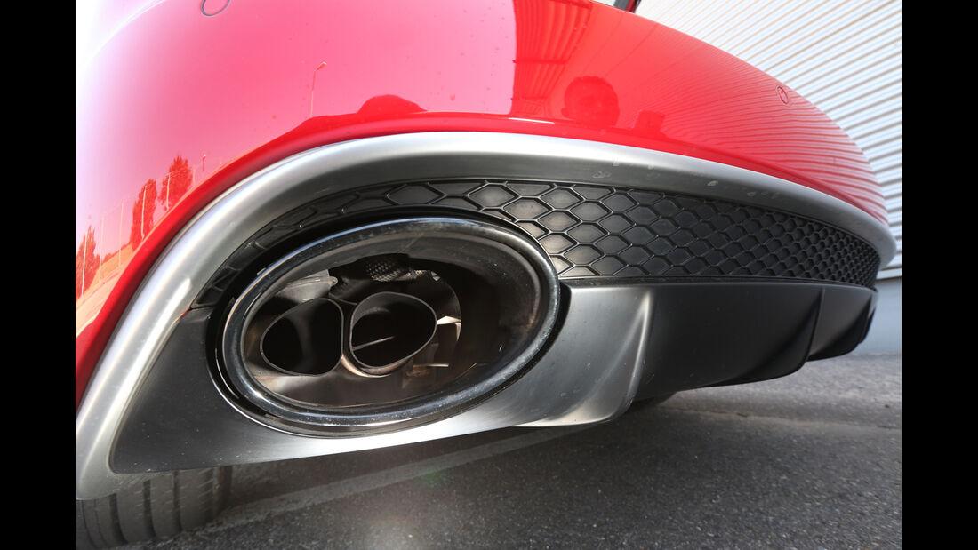 Audi RS4 Avant, Endrohr, Auspuff