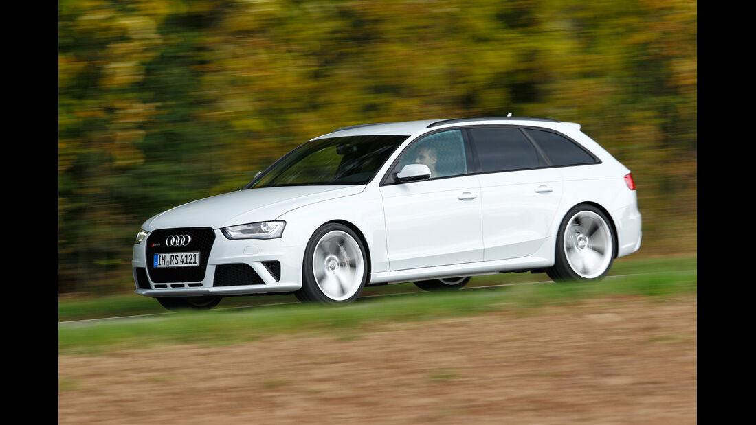 Audi RS4 Avant, Frontansicht