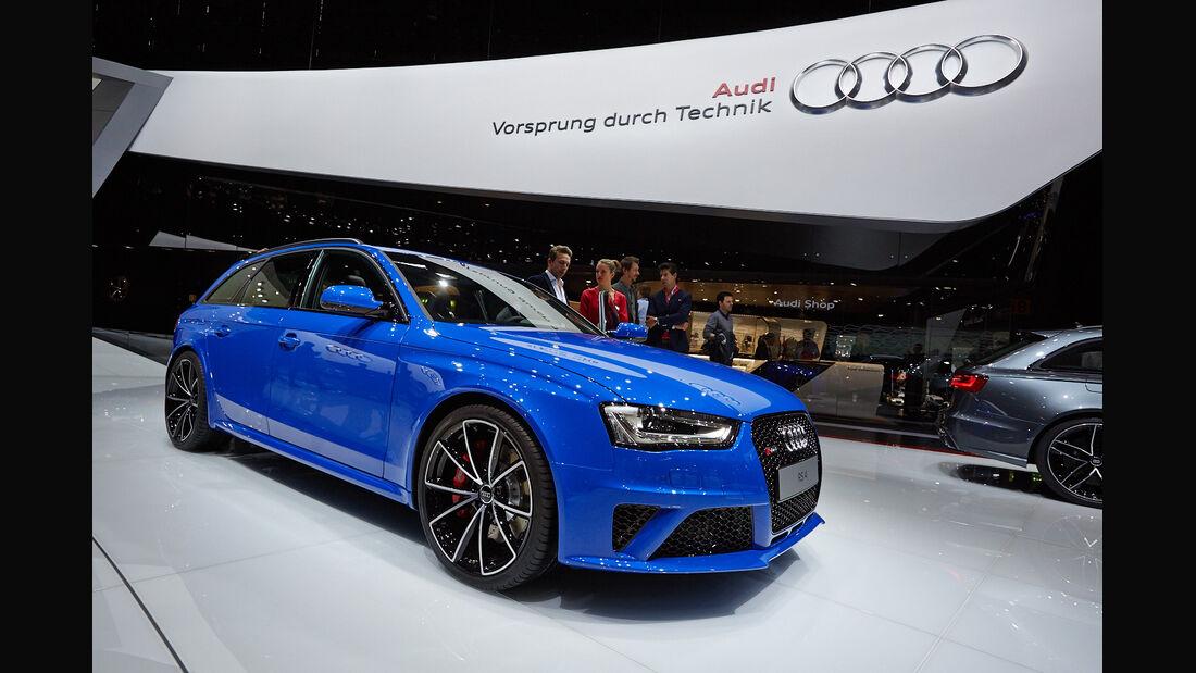 Audi RS4 Avant Nogaro, Genfer Autosalon, Messe, 2014