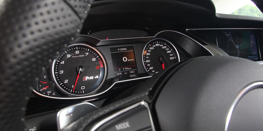 Audi RS4 Avant, Rundelemente