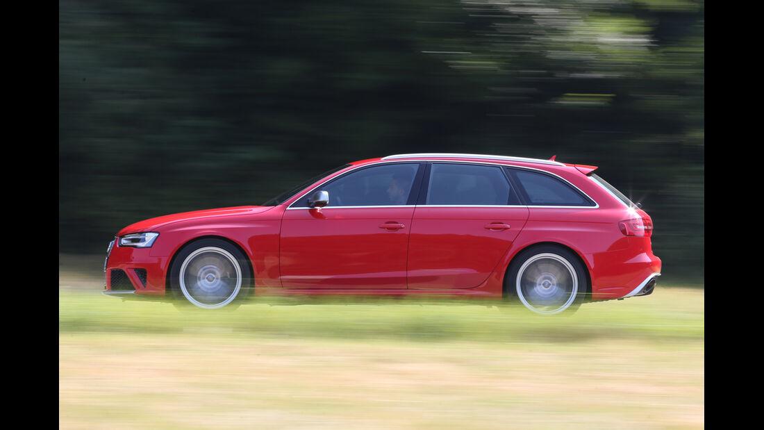 Audi RS4 Avant, Seitenansicht