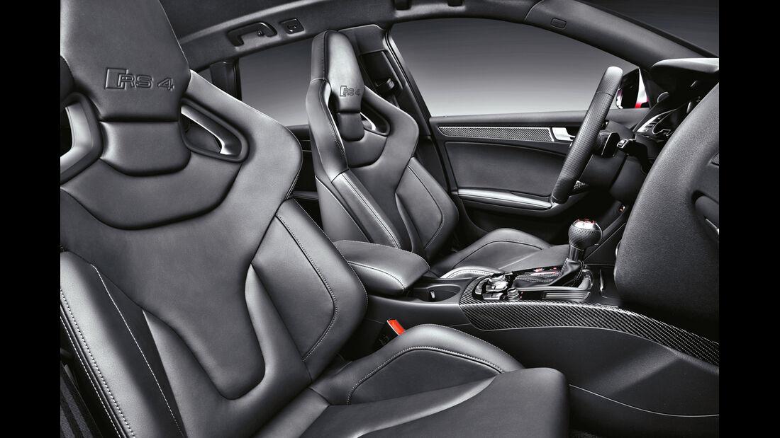 Audi RS4 Avant, Vordersitze, Innenraum