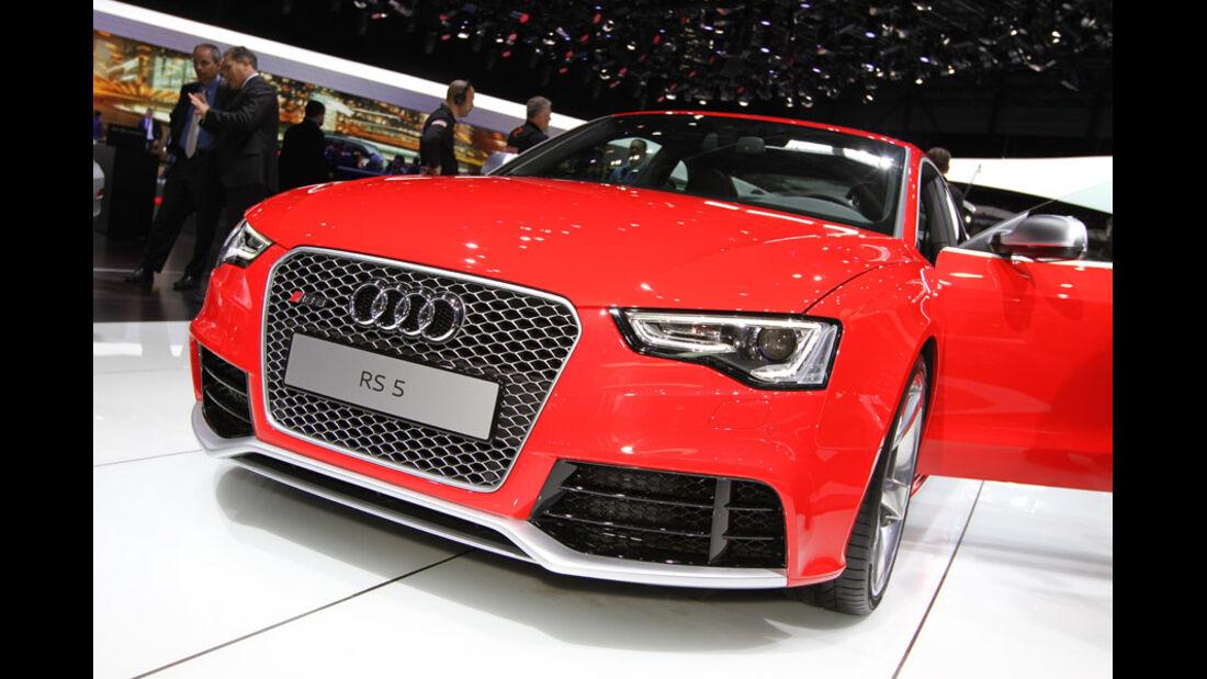 Audi RS5 Auto-Salon Genf 2012