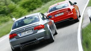 Audi RS5, BMW M3 Coupé