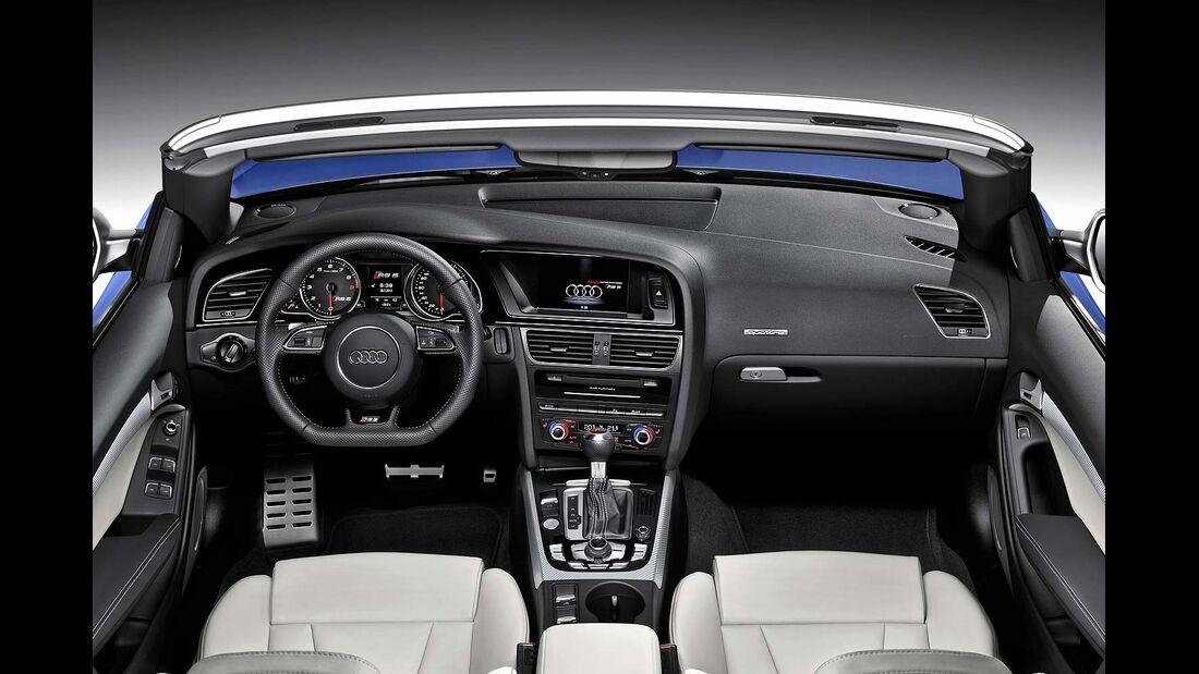 Audi RS5 Cabrio, Cockpit