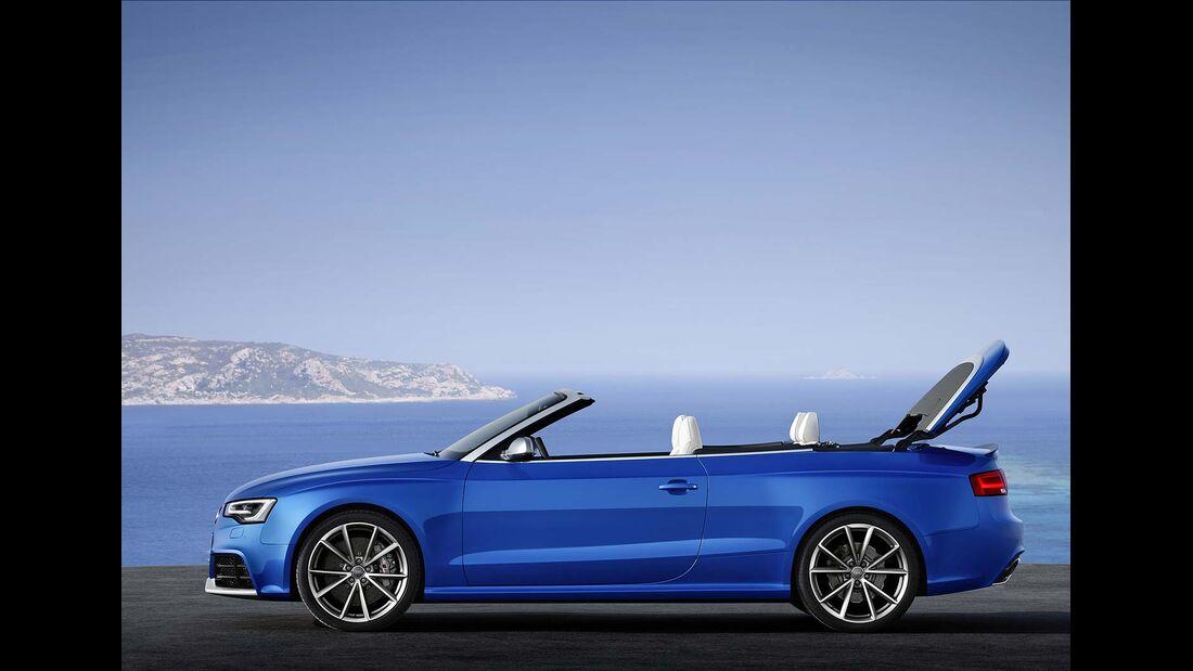Audi RS5 Cabrio, Dachverschluß 1