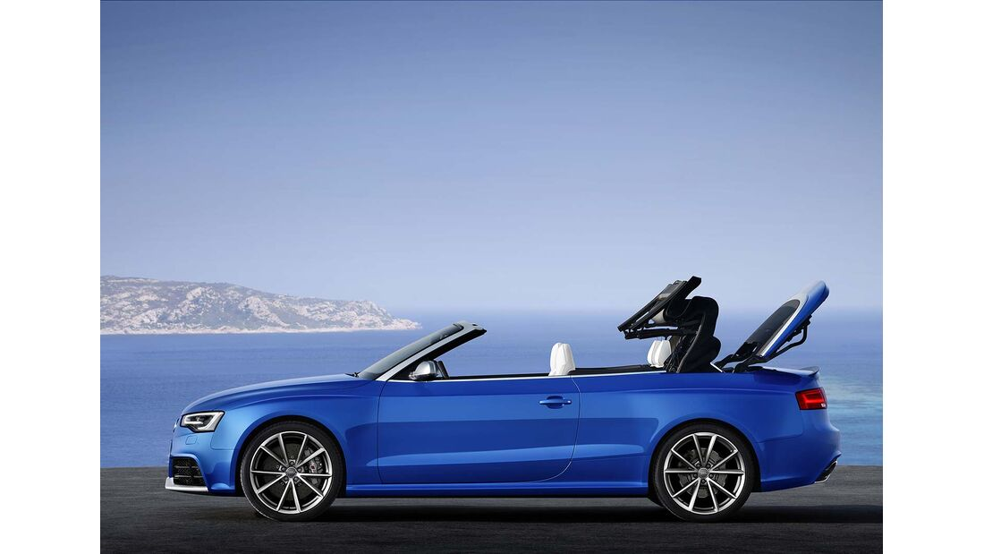 Audi RS5 Cabrio, Dachverschluß 2