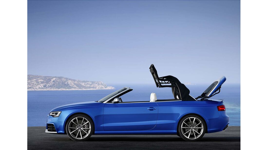 Audi RS5 Cabrio, Dachverschluß 3