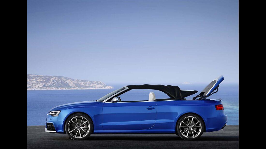 Audi RS5 Cabrio, Dachverschluß 4