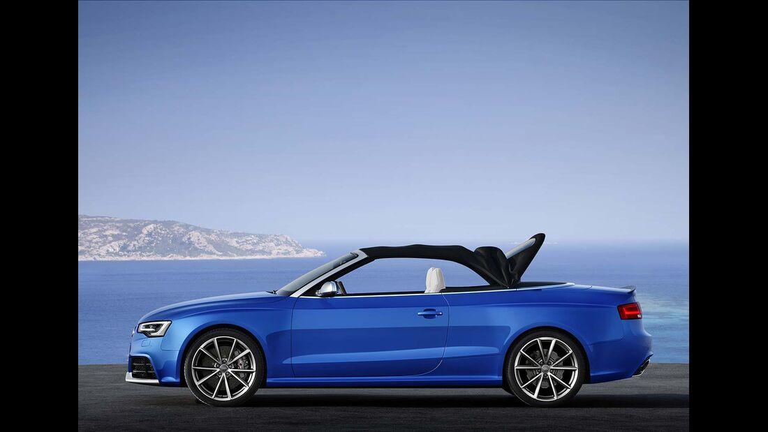 Audi RS5 Cabrio, Dachverschluß 5