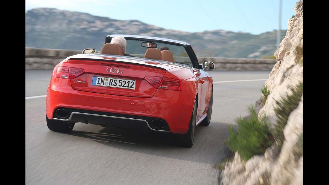 Audi RS5 Cabrio, Heckansicht
