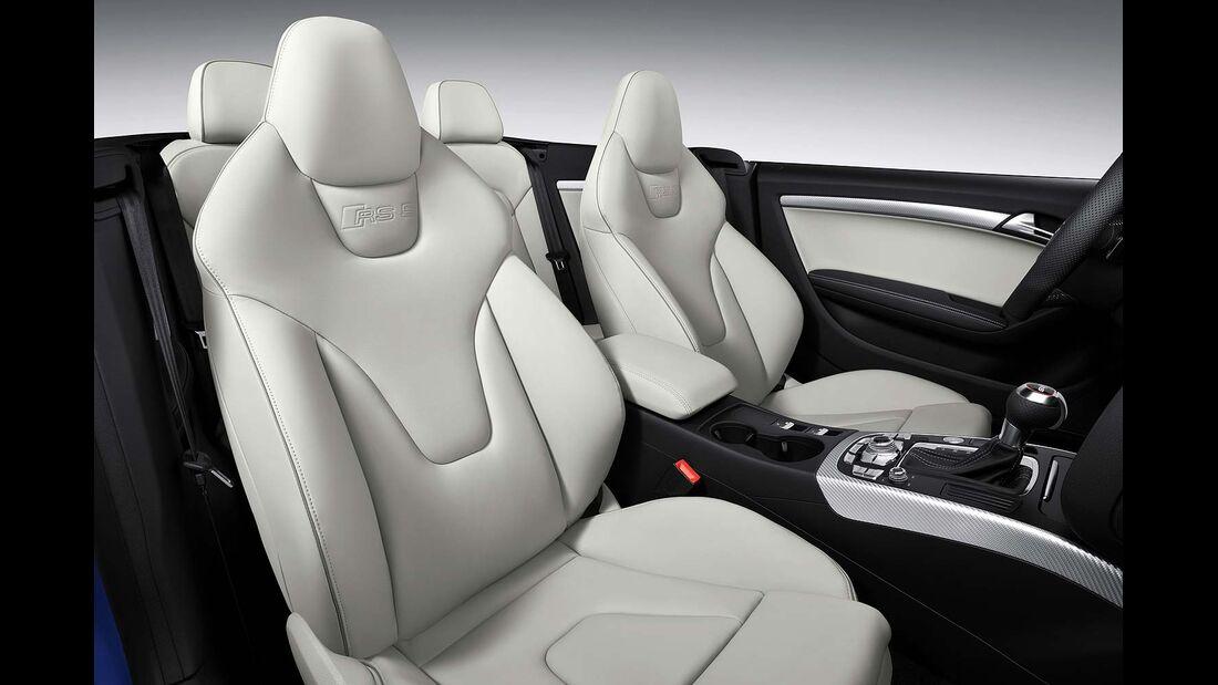 Audi RS5 Cabrio, Ledersitze