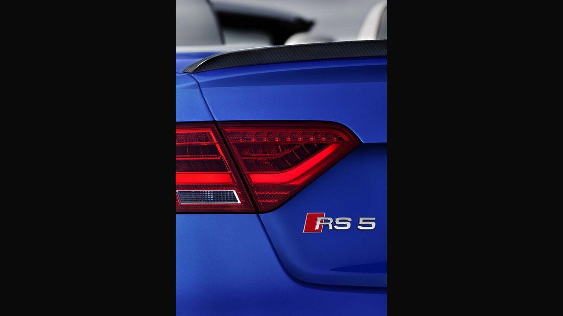 Audi RS5 Cabrio, Logo