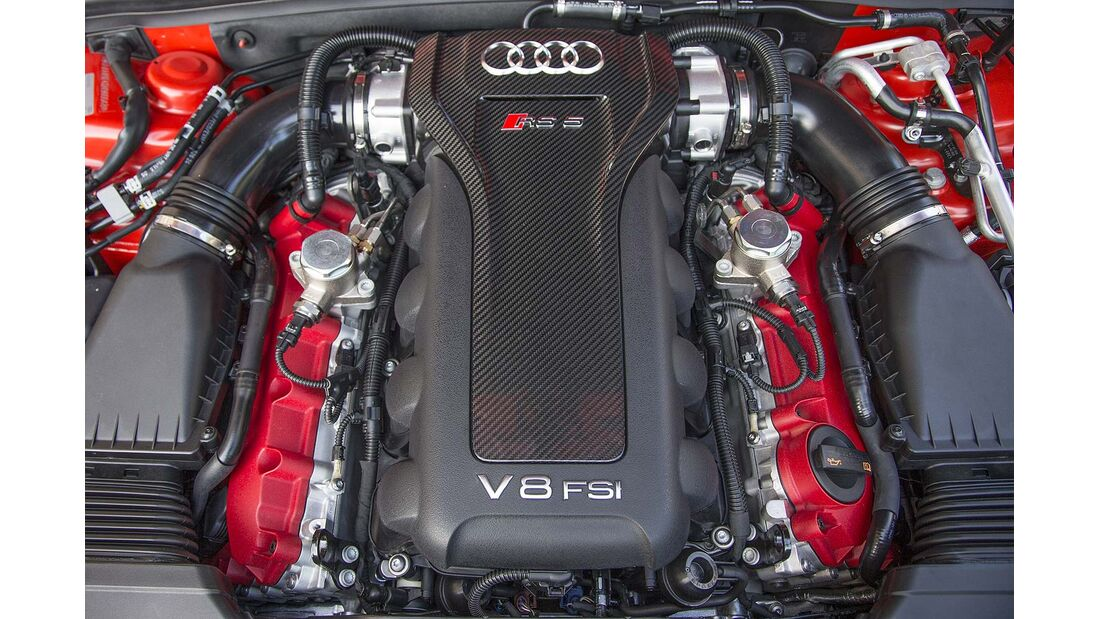 Audi RS5 Cabrio, Motor