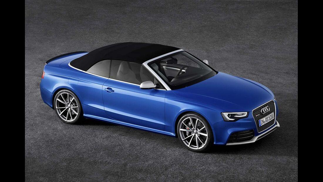 Audi RS5 Cabrio, Seitenansicht