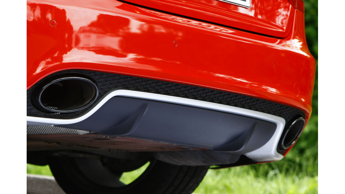 Audi RS5 Coupé Auspuff