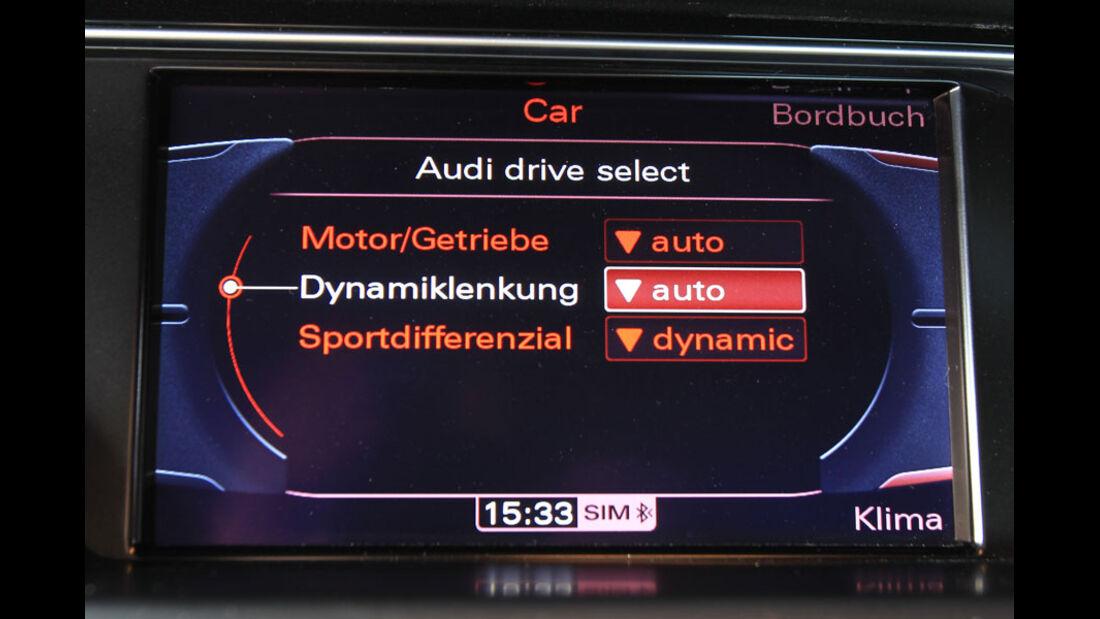 Audi RS5 Coupé Bildschirm