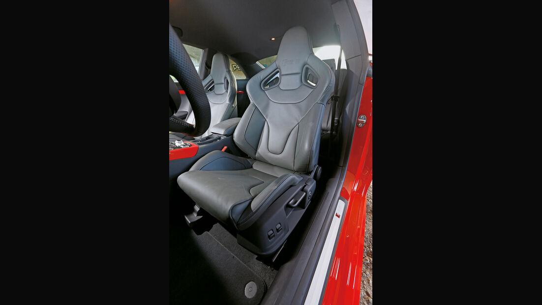 Audi RS5 Coupé, Fahrersitz