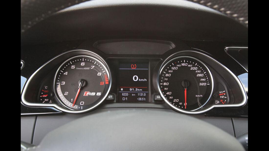 Audi RS5 Coupé Instrumente