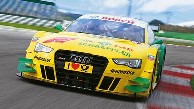 Audi RS5 DTM, Frontansicht