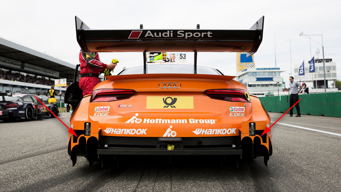 Audi RS5 - DTM - Technik - 2017