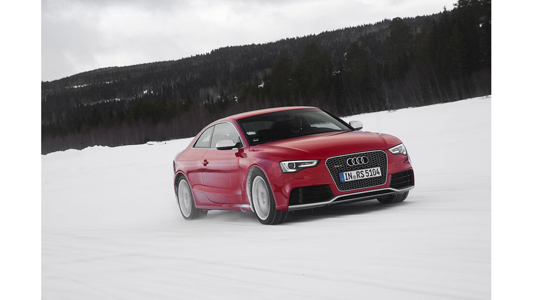 Audi RS5, Front