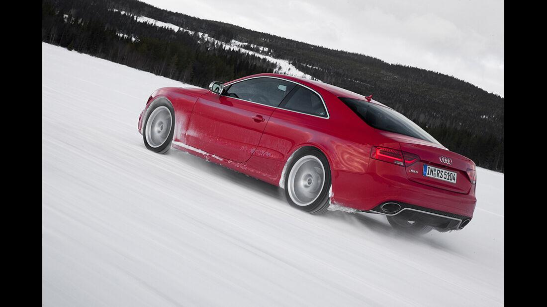Audi RS5, Heck