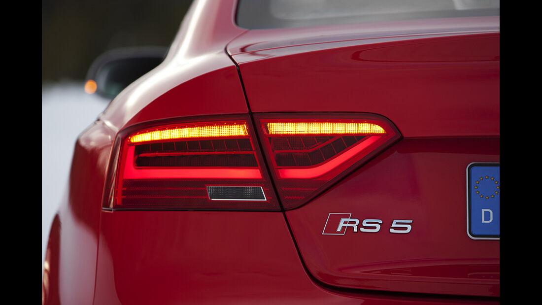 Audi RS5, Heckleuchte