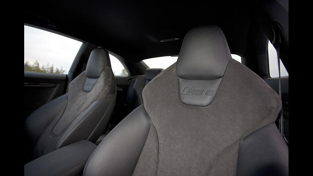Audi RS5, Innenraum