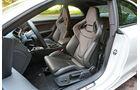 Audi RS5, Innenraum, Sitze