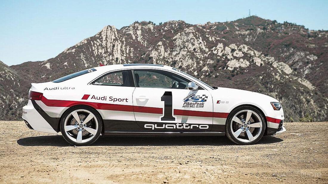 Audi RS5 Pikes Peak