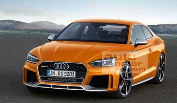 Audi RS5 Retusche