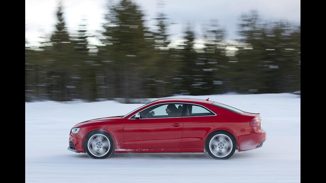 Audi RS5, Seitenansicht